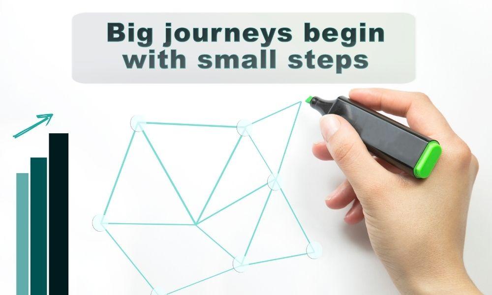 中小企業のDXはスモールステップから始まる
